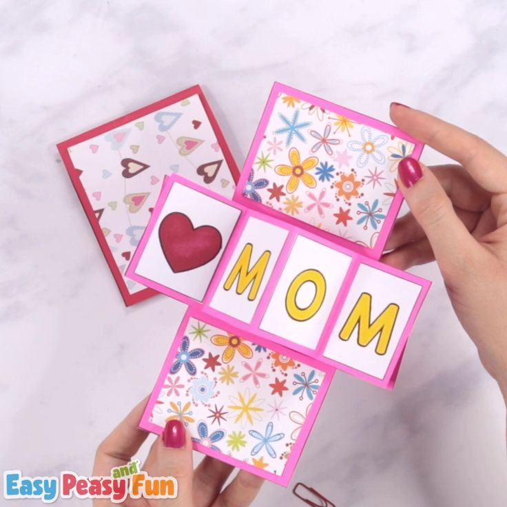 Twist and Pop Mother's Day Card Craft for Kids