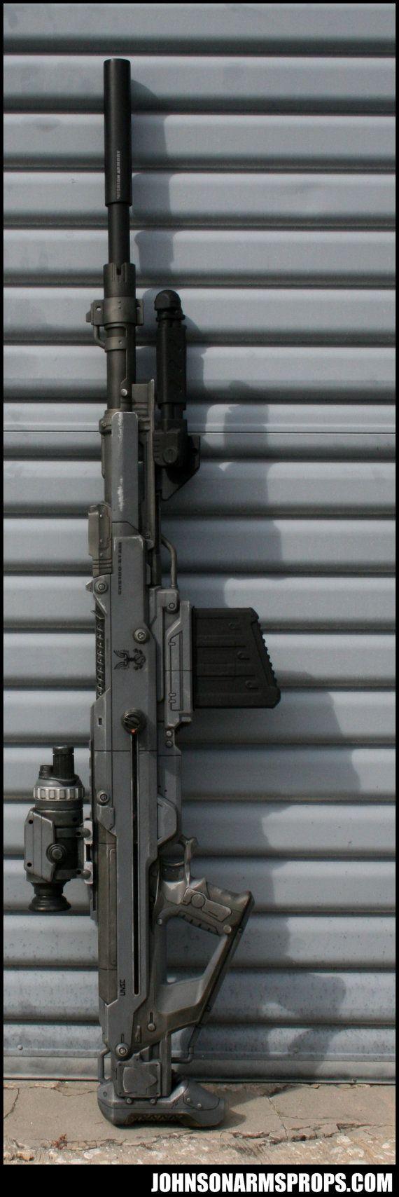 Halo Themed Nerf Centurion Cosplay Prop Still shoots by BCJFLA76, $475.00