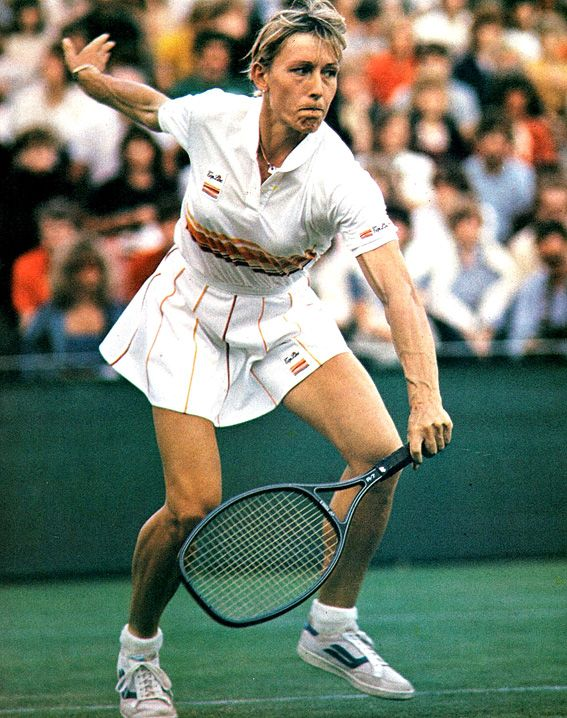 """Martina Navratilova, arguably the greatest female tennis player of all time: Before she retired in 2006, won 18 Grand Slam singles titles and 31 Grand Slam doubles titles, and remains the only player—male or female—to hold on to the Number One ranking for more than 200 weeks.  And for most of her brilliant tennis career she was an out gay woman coming out in '81.  """"It is beautiful out here and I guarantee you this—you will never, ever want to go back. You will only wonder why it took so…"""