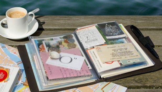 """Reisebuch TripBook """"Metropolis"""" von Remeber für die schönsten Urlaubserinnerungen..."""