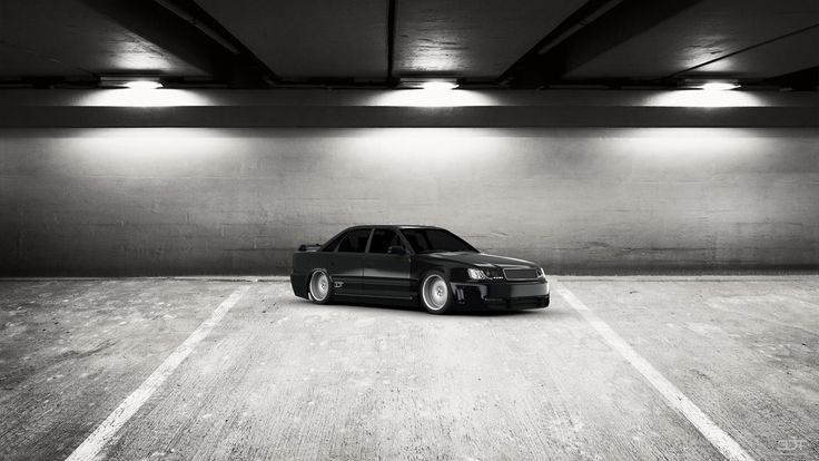 Checkout my tuning #Audi 100 1991 at 3DTuning #3dtuning #tuning