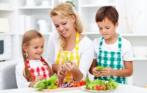 Help your child's growth and development with a children's nutrition plan