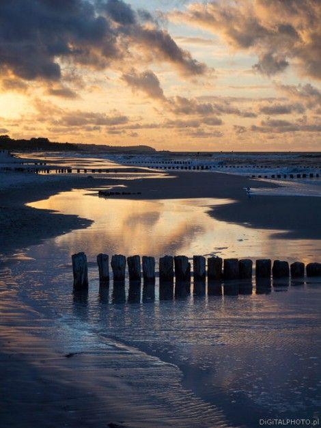 Chalupy Poland, beach