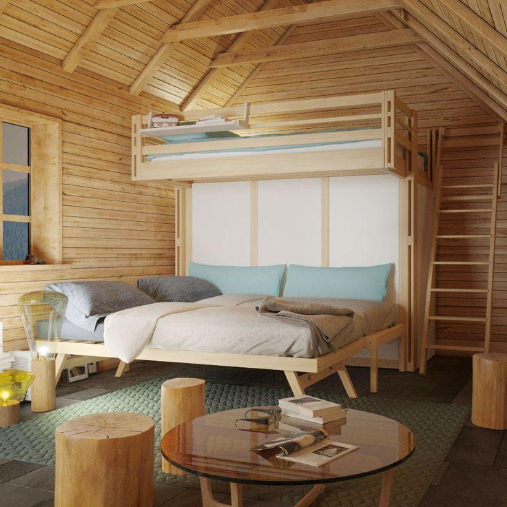 les 25 meilleures id es de la cat gorie deux lits jumeaux sur pinterest lits pour petites. Black Bedroom Furniture Sets. Home Design Ideas
