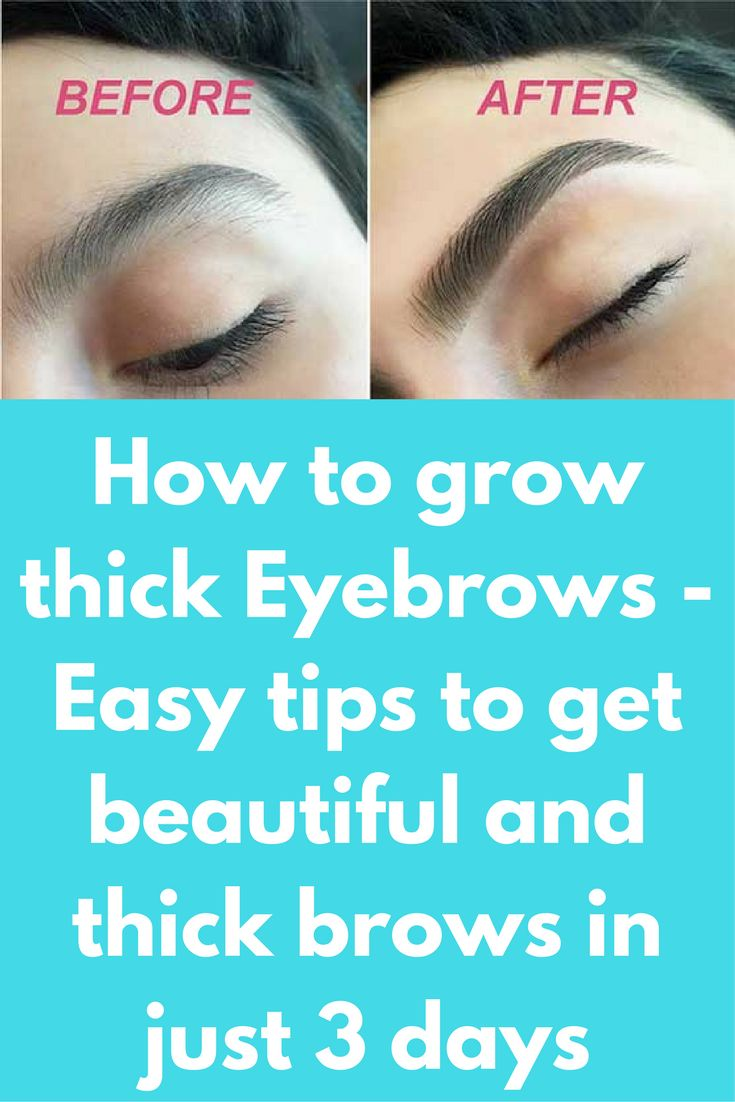 how to make your eyebrows appear thicker