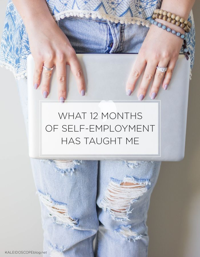 What 12 months of self-employment has taught me