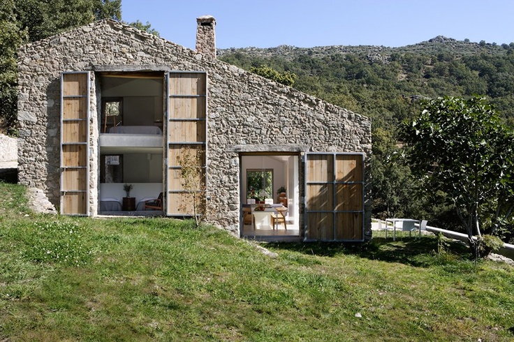 Architecture +Sustainability Jury Winner: Off Grid Home in Extremadura by ABATON Architecture in Cáceres, Spain