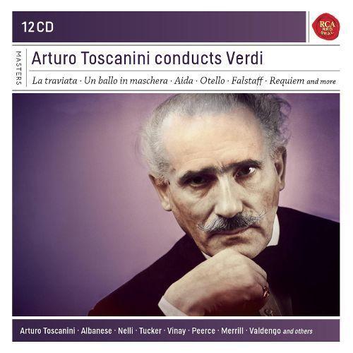 Arturo Toscanini Conducts Verdi [CD]