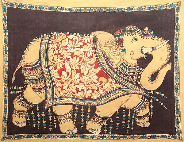 Kalamkari Paintings (Andhra Pradesh)
