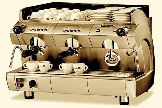 If you are going to be offering coffee as a main staple of your business, you may want to invest in a commercial espresso machine versus a traditional drip machine.