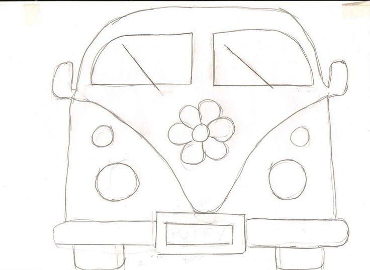 VW Camper Van pattern