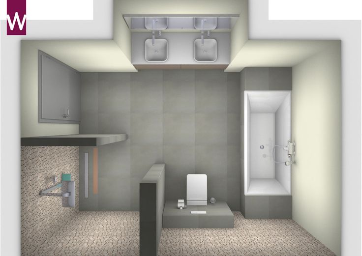 Badkamer Inrichten 3d : ... - Moderne Badkamer Wastafels, Badkamer ...