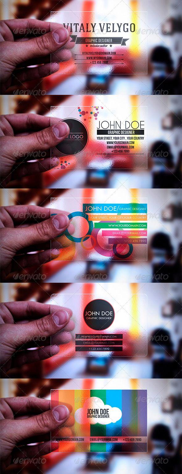 Best 25+ Transparent business cards ideas on Pinterest   Clear ...