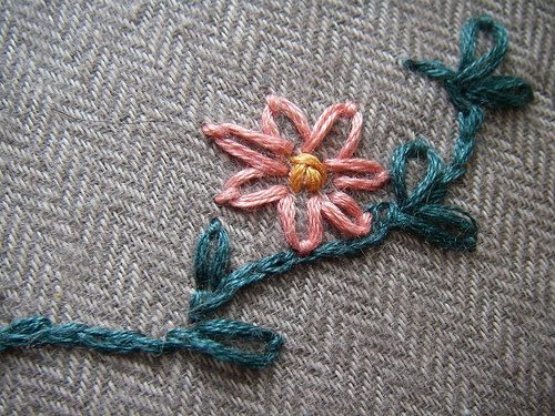 Best images about lazy daisy and chain stitch on