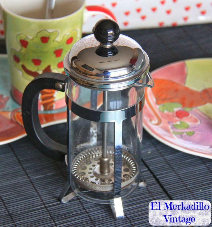 Cafetera-Tetera de Embolo a presión (Ref. 0081)