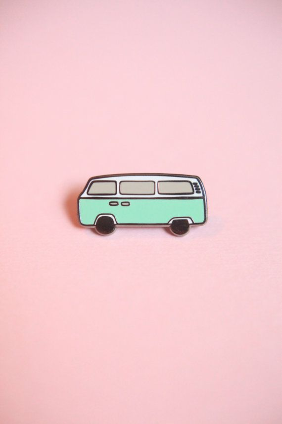 Hey, I found this really awesome Etsy listing at https://www.etsy.com/listing/387472020/vintage-style-mint-bus-hard-enamel-pin