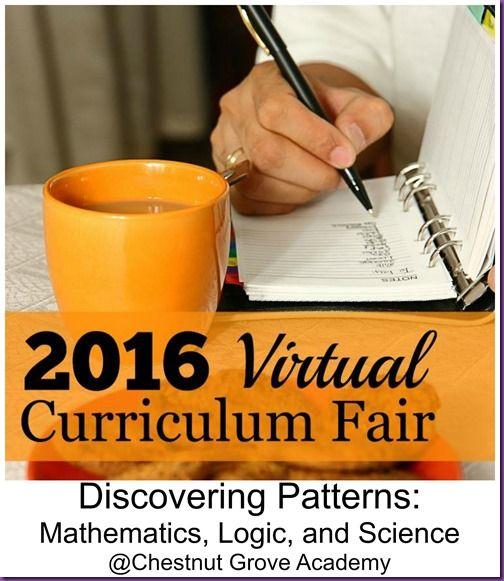 Virtual Curriculum Fair 2016: Discovering Patterns: Mathematics, Logic, and Science