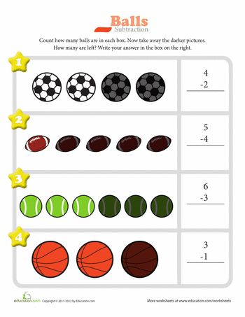 sports star subtraction worksheets math and subtraction worksheets. Black Bedroom Furniture Sets. Home Design Ideas