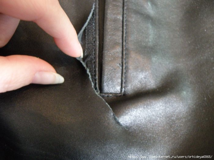 Полезные советы по ремонту кожаных изделий.