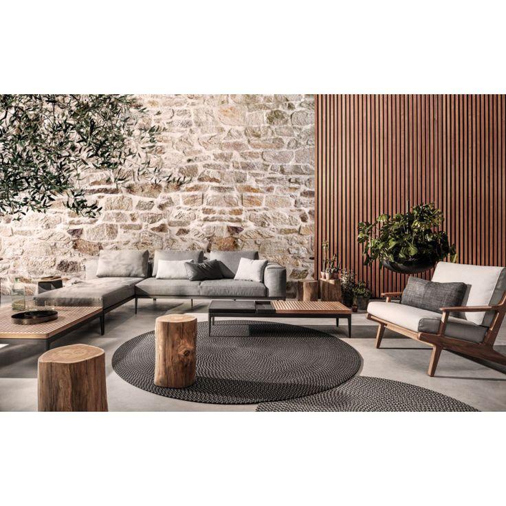 Gartenmobel Lounge Design. terrasse mit gemütlicher lounge ...