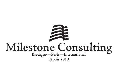 Milestone Consulting - logo designed to be from Brittany. :)