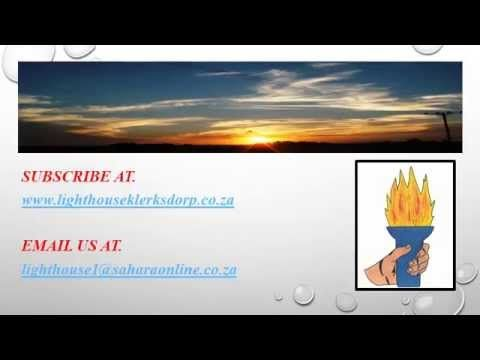 Kingdom Lecture 080K -  DON'T REFUSE HIM OR NEGLECT HIM.  http://www.lighthouseklerksdorp.co.za/Lighthouse_Cape_Town.html or e-mail. lighthousecapetown@gmail.co.za