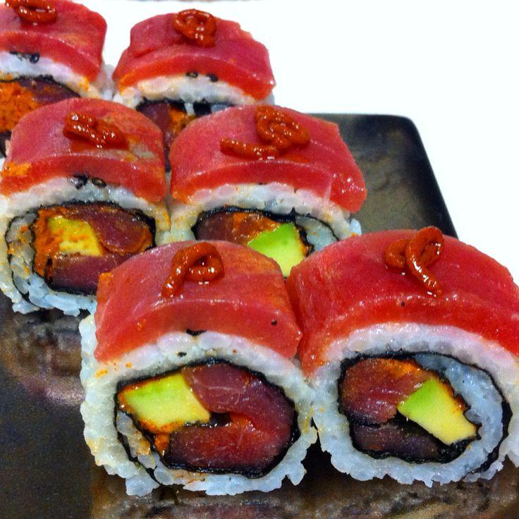 Red Dragon Sushi Rolls
