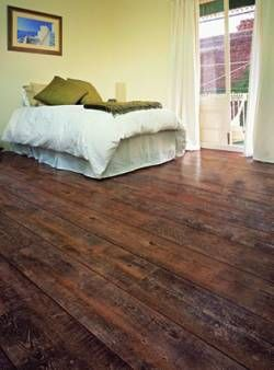 vinyl flooring that looks like wood | Vinyl Floors Look Like Hardwood Floors - Video