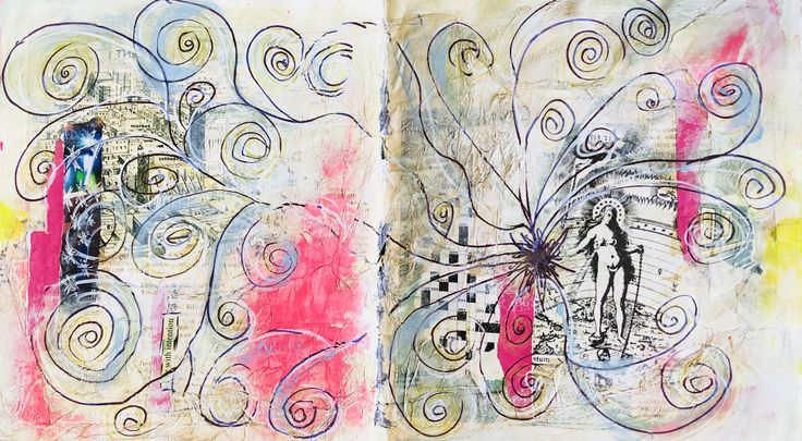 Taking back the power they stole   Ruby Jude Art Journaling