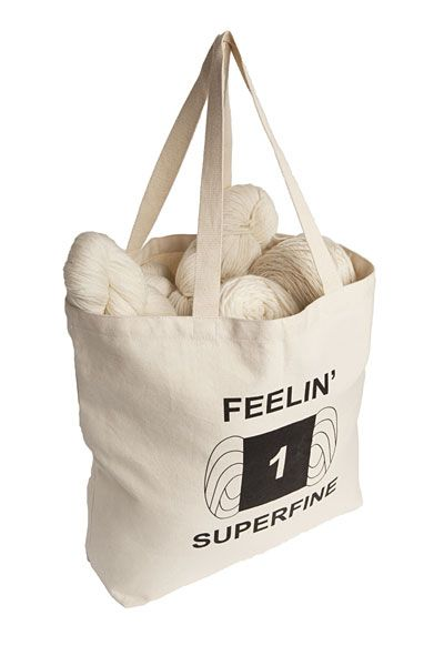 Superfine Tote Bag from KnitPicks.com