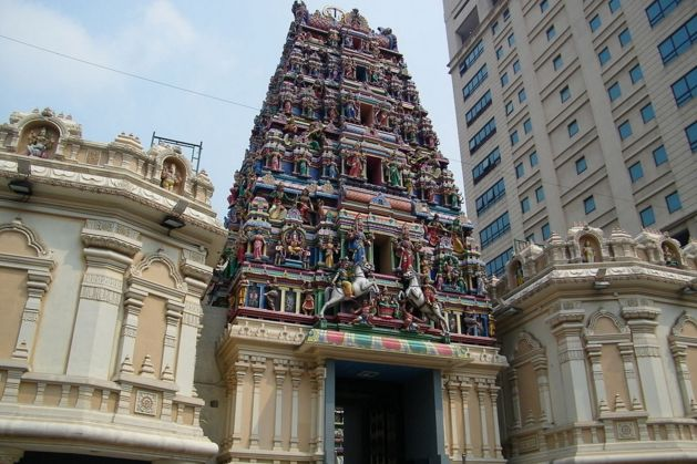 Sri Mahamariamman is sacred Hindu temple of locals and also the prominent destinations of Bukit Bintang in Kuala Lumpur. #Sri #Mahamariamman #Temple - #Bukit #Bintang #Kuala #Lumpur