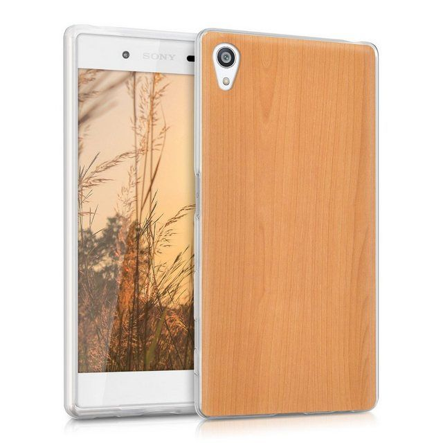 Handyhulle Hulle Fur Sony Xperia Z5 Tpu Silikon Handy Schutzhulle Cover Case Kirschholz Design Handy Schutzhulle Schutzhulle Und Sony Xperia