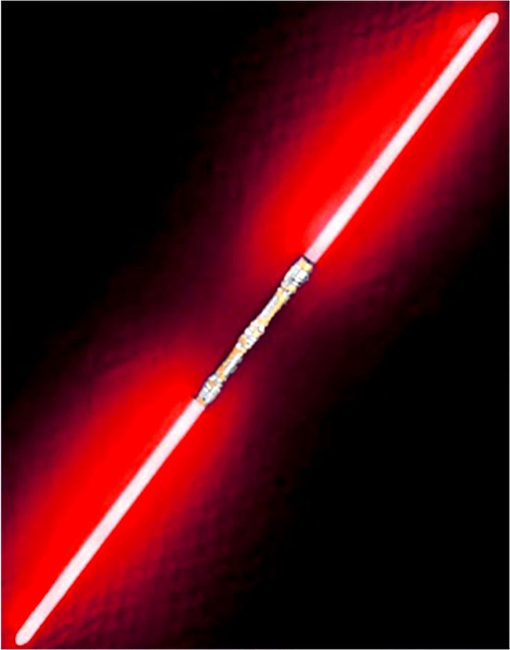 """Star Wars Darth Maul or Savage Opress Style 52"""" Red Double Bladed Sith Dual Lightsaber"""