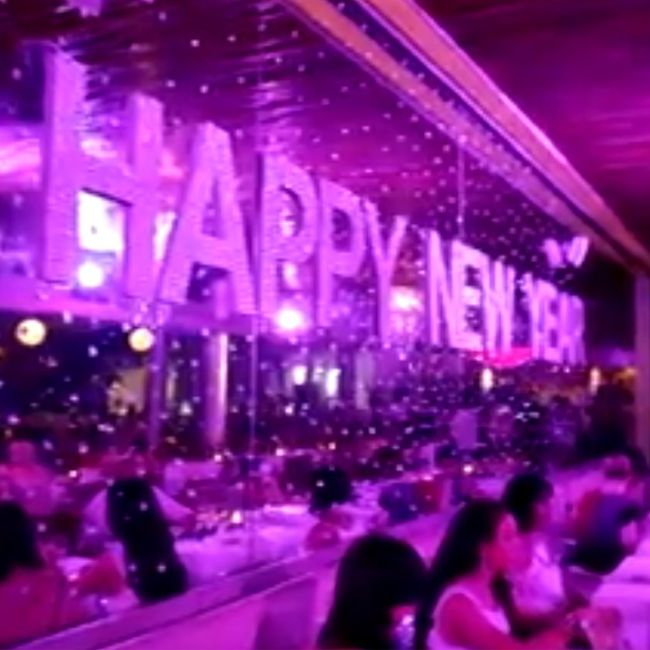 """This is how Cocoon does NYE: tickets on sale now for NYE 2014. email NYE2014@cocoon-beach.com for more information or to book. NEW YEAR 2013 """"BLING PARTY"""" http://on.fb.me/1zk18Ta"""