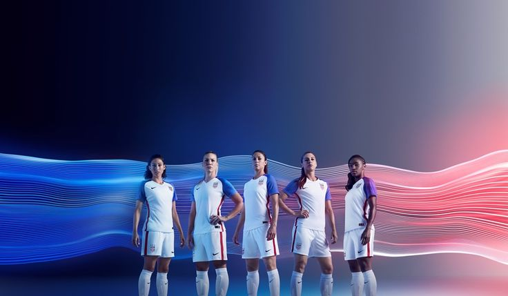 2016 USA National Team Jerseys Unveiled - U.S. Soccer           ⚽️Personally I liked the World Cup kit and previous US logo better but these are pretty cool, especially the Away kit