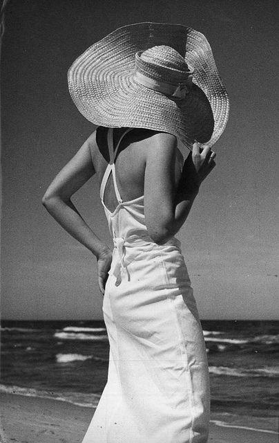 1930's sunbather