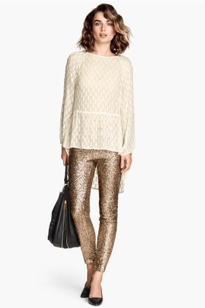 I ❤️ Pantalones de lentejuelas!