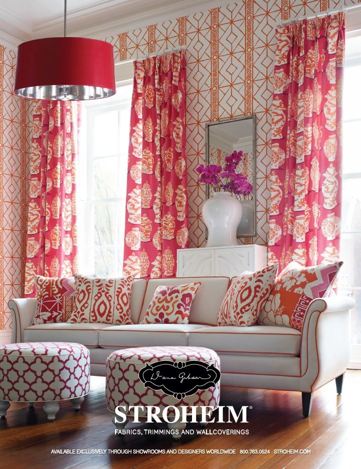 Stroheim Dana Gibson Fabric And Wallcoverings Chinoiserie