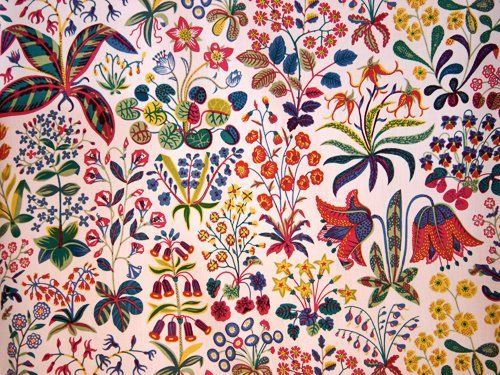 Josef Frank...love this print!