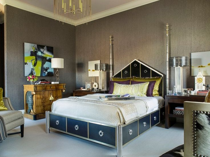 art deco style for bedroom