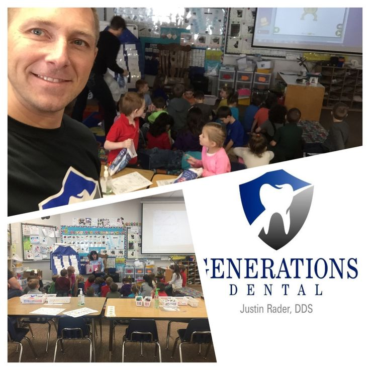 Ramsey elementary kindergarten classes got some dental hygiene information and some dental goodies today from Dr. Rader. GenerationsDentalCDA.com