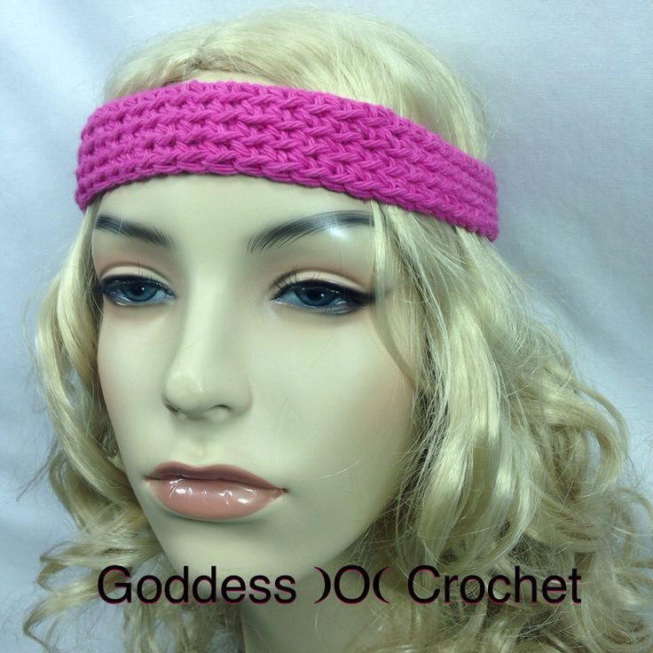 Mejores 14 imágenes de Crochet Patterns - Headbands en Pinterest ...