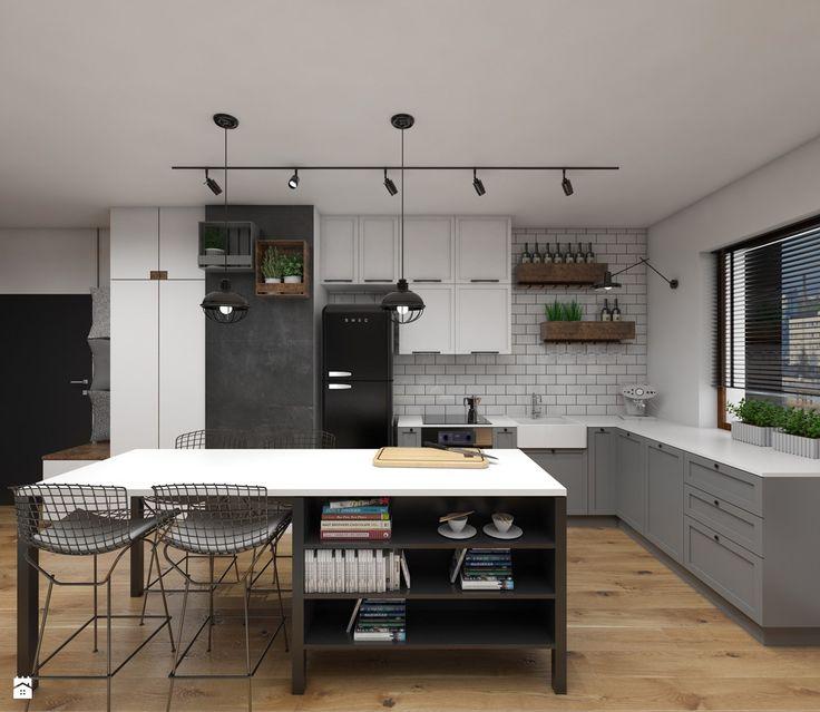 Kuchnia styl Industrialny - zdjęcie od Dizajnia art - studio projektowe - Kuchnia - Styl Industrialny - Dizajnia art - studio projektowe