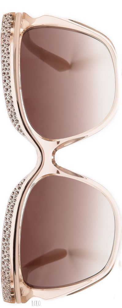 Jimmy Choo Nude Sunglasses