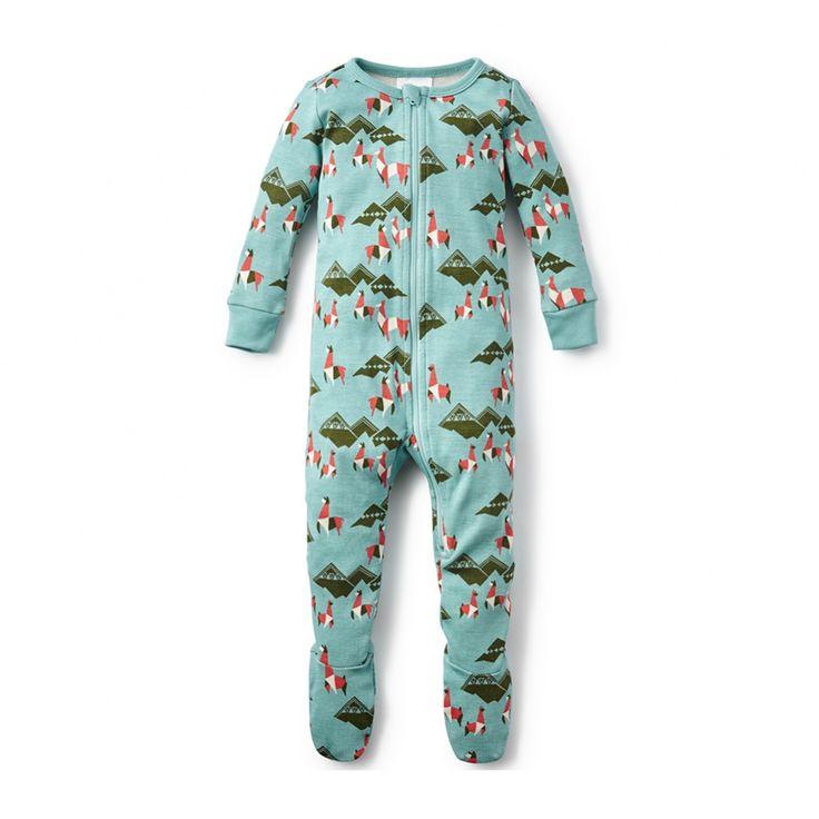 Guanaco Footed Pajamas | Baby boy pajamas, Cute baby boy ...