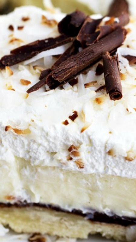 coconut on Pinterest | Lemon coconut, Coconut cream cakes and Cakes ...