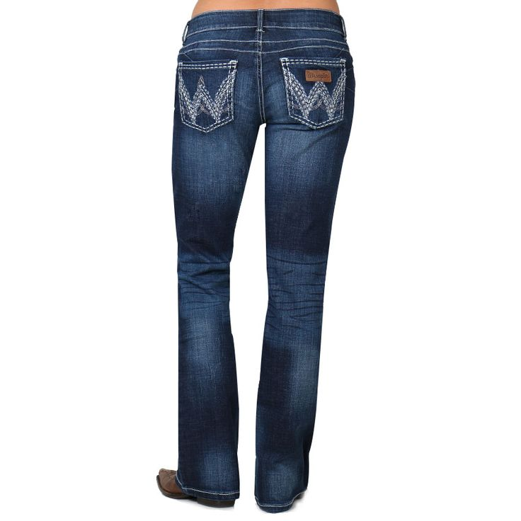 Wrangler Booty Up Sadie Boots Cut Jeans