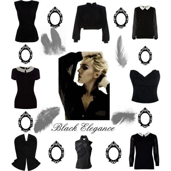 """""""Black Elegance"""" by louiseenorris on Polyvore"""