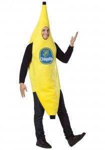 Over the top vrijgezellenfeest kostuums ! Ga als Chiquita banaan! #bachelorparty #outfit #banana