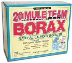 Borax~things u can use this for! Remove wine, blood, dog urine, grass stains. I take a empty cleaned out spray bottle and fill it up with hot water and add 1/2cup to it and shake it really good. Spray on the stain, if the stain is on the carpet, directly spray the carpet, let sit and then blotch it with a wet towel, do not scrub the carpet! Borax also mixed in with laundry soap use 1/2 cup will help remove those stains you don't catch..just mix in w/laundry soap at the beginning of the…